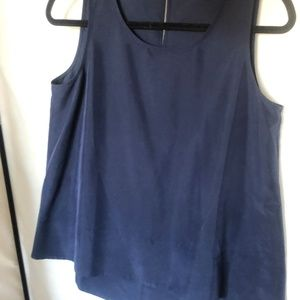 Tommy Bahamas basic navy tank